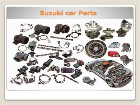 Suzuki Cars Parts buy suzuki car parts
