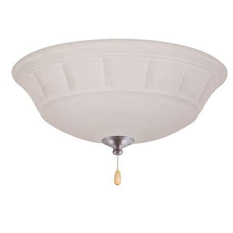 ceiling fan with track lighting hton bay 10 ft 5 light brushed steel line voltage
