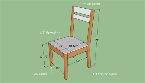 building a simple chair diy woodwork