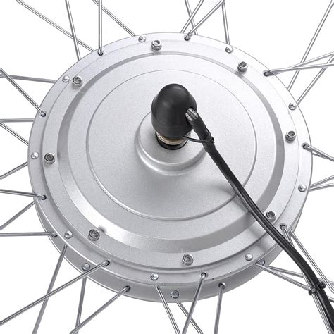 20 24 26 quot front wheel electric bicycle ebike conversion kit 48v 1kw 36v 750w ebay