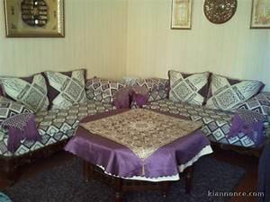 Banquette Salon Marocain : salon marocain banquette table marocaine a vendre marseille 2eme ardt maison maison jardin ~ Voncanada.com Idées de Décoration