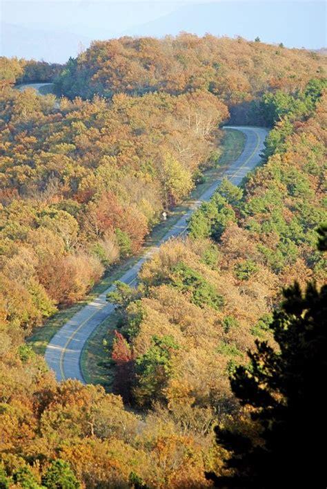 Oklahoma Boasts Spectacular Views Of Fall Foliage Scene