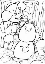 Slime Rancher Coloring Printable Giveaway Since Been Darling Deadhead sketch template