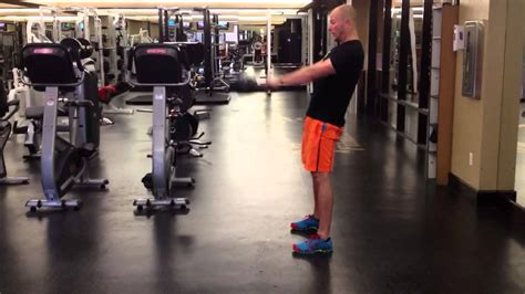 side kettlebell swing