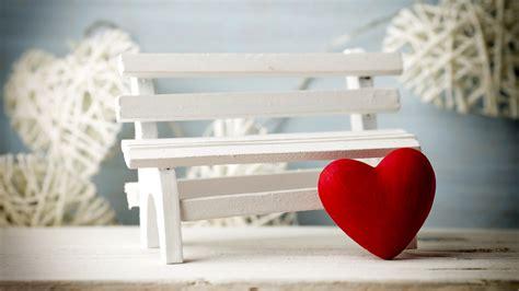 Wallpaper Love Heart, Bench, 5k, Love, #1023