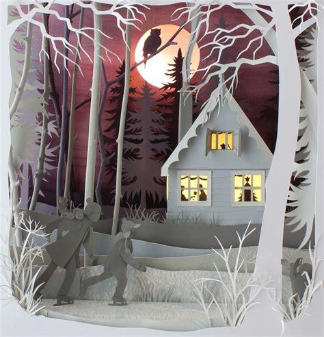 paper dioramas  helen musselwhite