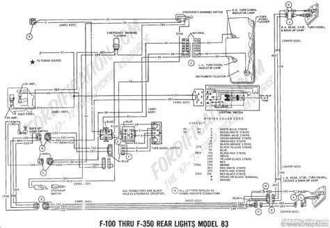 Ford Truck Alternator Diagram by Ford 1g To 3g Alternator Wiring Harness Home Decor