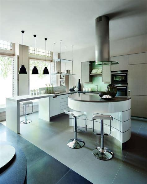 exemple cuisine avec ilot central modele de cuisine avec ilot central ikea
