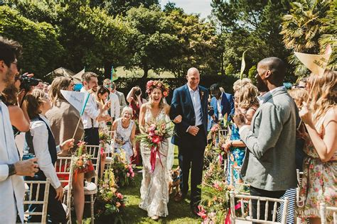 Abbotsbury Subtropical Gardens wedding Dorset Outdoor