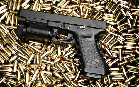 glock  full hd papel de parede  background image