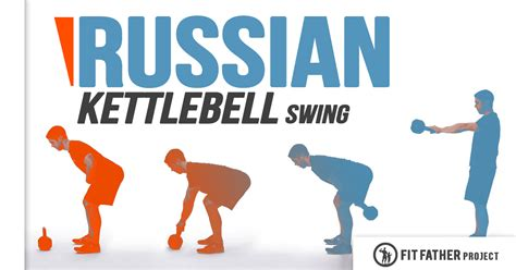 kettlebell russian swing exercise