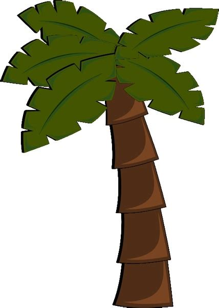 palm tree  vector  open office drawing svg svg
