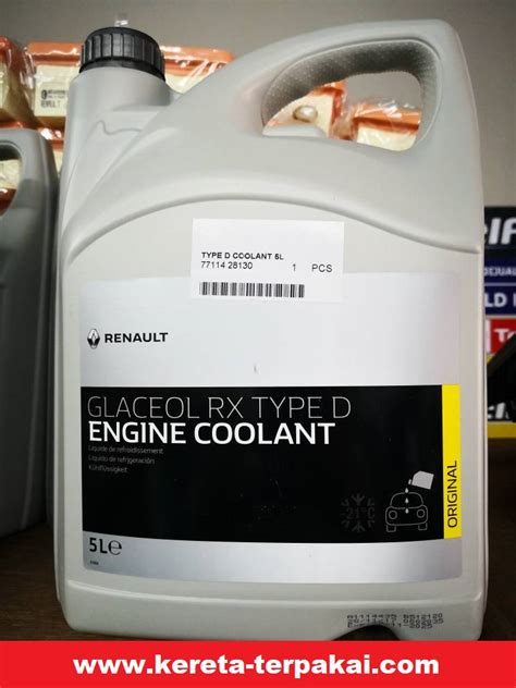 Proton Savvy Renault Engine Coolant Litres