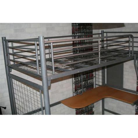 lit mezzanine 1 place avec bureau lit mezzanine 1 place avec matelas achat et vente