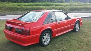 1993 Mustang Gt Vibrant Red W   Black Interior