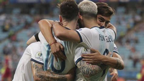 Argentina sufre para estar en cuartos de Copa América ...
