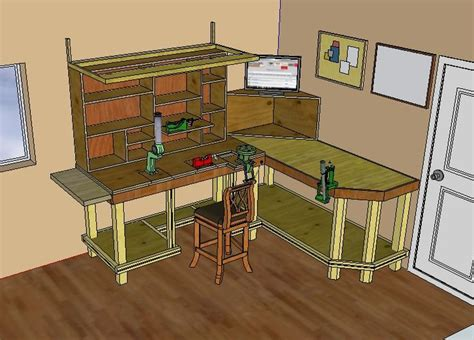 shooting bench design plans woodworking projects plans