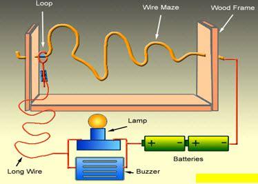How Make Wire Loop Game Circuit