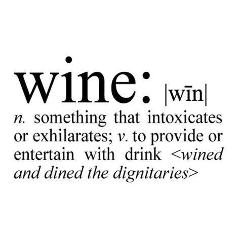wine definition wall quotes decal wallquotescom