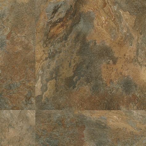 armstrong flooring fastak armstrong luxe fastak lexington slate multi color luxury vinyl flooring 18 quot x 18 quot arma6704881