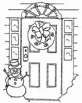 Puerta Colorear Dibujo Puertas Coloring Dibujos Imagenes Turen Doors Colouring Malvorlagen Abrir Diverse Sketchite Abre Malvorlage Kategorien sketch template