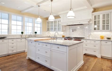 White Inset Cabinets by Pure White Hybrid Inset Cabinetry Traditional Kitchen