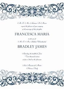 8 Free Wedding Invitation Templates