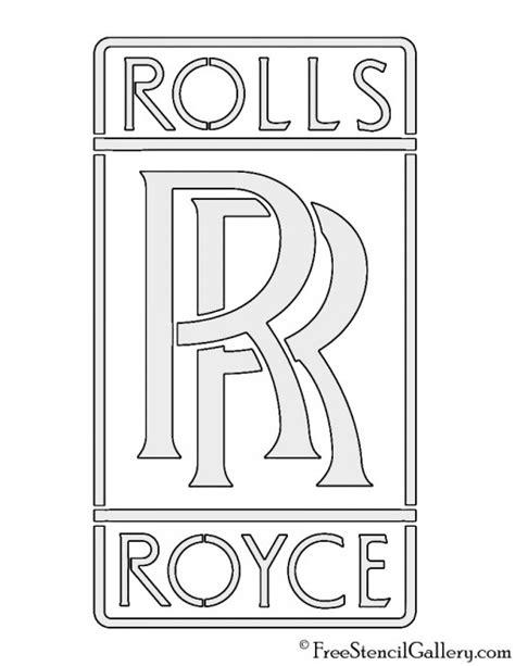 Rolls Royce Logo Stencil   Free Stencil Gallery