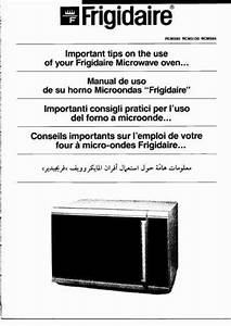 Frigidaire Rcm5130 Microwave Oven Download Manual For Free