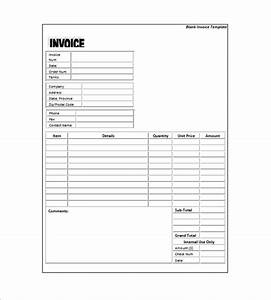 generic invoice template 8 free word excel pdf format With generic invoice sheet