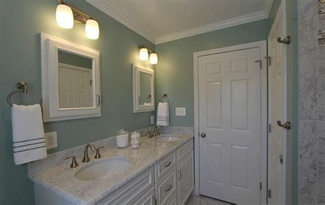 bathroom remodeling sage green carrera marble taylor