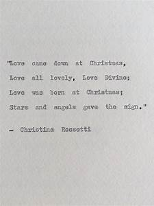 Christina Rosse... City Poetry Quotes