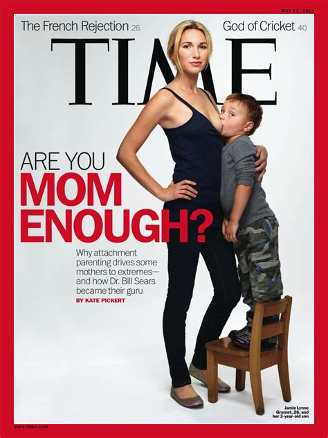 Time Magazine Breastfeeding Cover Picture Stirs Controversy