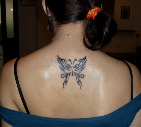 nice butterfly tribal tattoos