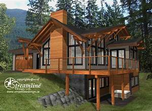 Emma Lake Timber Frame Plans  U2013 3937sqft  U2013 Streamline Design