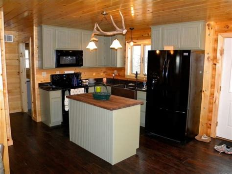 Rustic Cabin Kitchen Renovation   Rustic   Kitchen   St