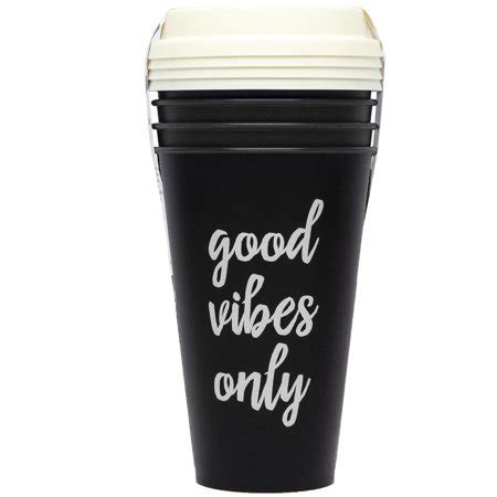 And let's remember, these cannot be recycled and go straight to join us in saying no to single use plastic, and choose the reusable coffee cup that suits your needs and aesthetics best. Aladdin 16 pack Reusable Coffee Cups, 16 oz, Black 4-pack ...