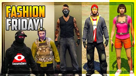 Austin u269c on Twitter u0026quot;GTA 5 FASHION FRIDAY! 30 NEW OUTFITS (The Biker SecuroServ Gaurd Dora ...