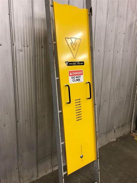 restrict access  ladders  ladder guard belt