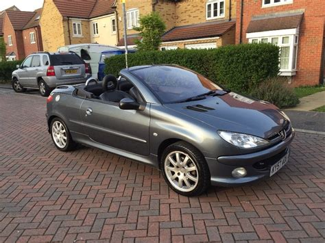 Peugeot 206 Convertible by Reduced For Sale Peugeot 206 Cc Convertible