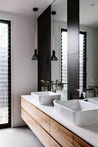 meuble double vasque de design moderne en 60 exemples With meuble double vasque design