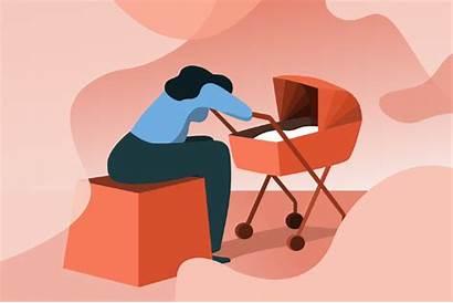 Depression Postpartum Blues Symptoms Anxiety Pandemic Covid