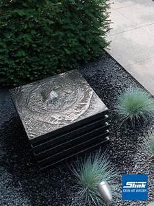 Steinbrunnen Für Den Garten : gartenbrunnen layer slink ideen mit wasser ~ Bigdaddyawards.com Haus und Dekorationen