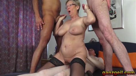 Threesome With Lustful German Granny Hd Porn Ee Xhamster De