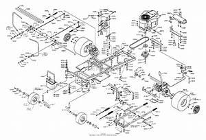 Dixon Ztr 5020  1999  Parts Diagram For Chassis