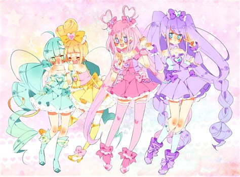 Queen Of Hearts Wallpaper Pretty Cure Oc Favourites By Melodyshy On Deviantart