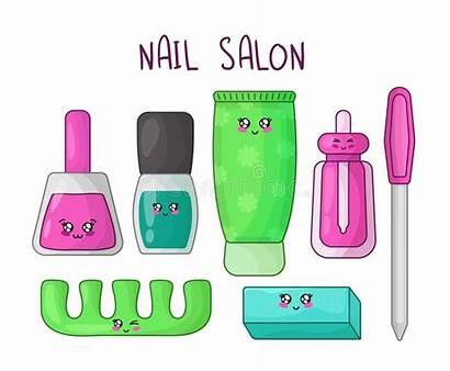 Manicure Kawaii Cartoon Nail Vullen Polish Stuff