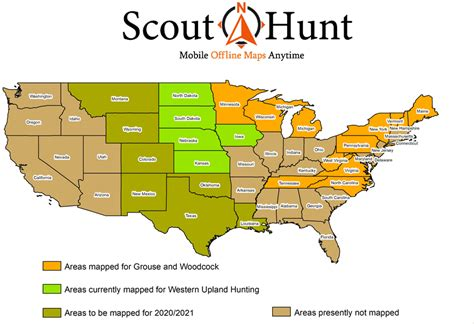 hunting maps mobile hunt map scout bird offline gps guided self features