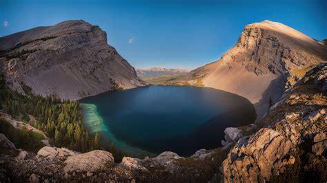 Carnavron Lake In Kananaskis Alberta 4k Hd Nature