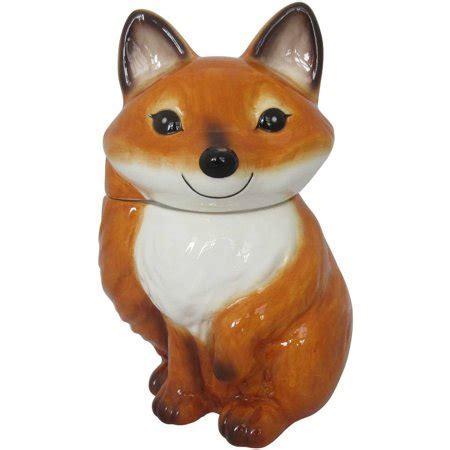 Mainstays Fox Cookie Jar   Walmart.com
